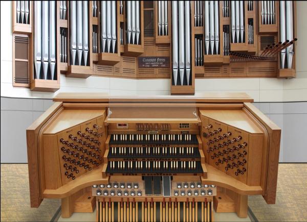Sonus Paradisi Casavant Organ Model - U S A  - Organs