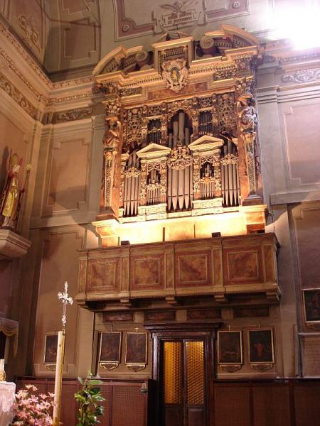 Sonus Paradisi Brescia, St  Carlo - Italy, Slovenia - Organs