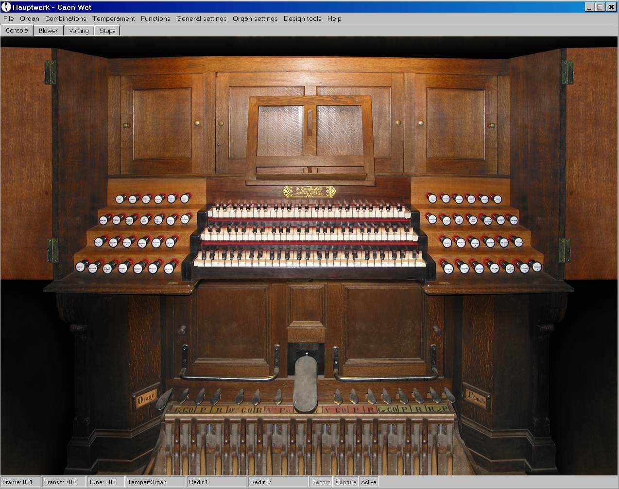 Sonus Paradisi Caen - St  Etienne - France - Organs