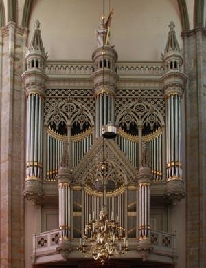 Utrecht Dom, Baetz Organ
